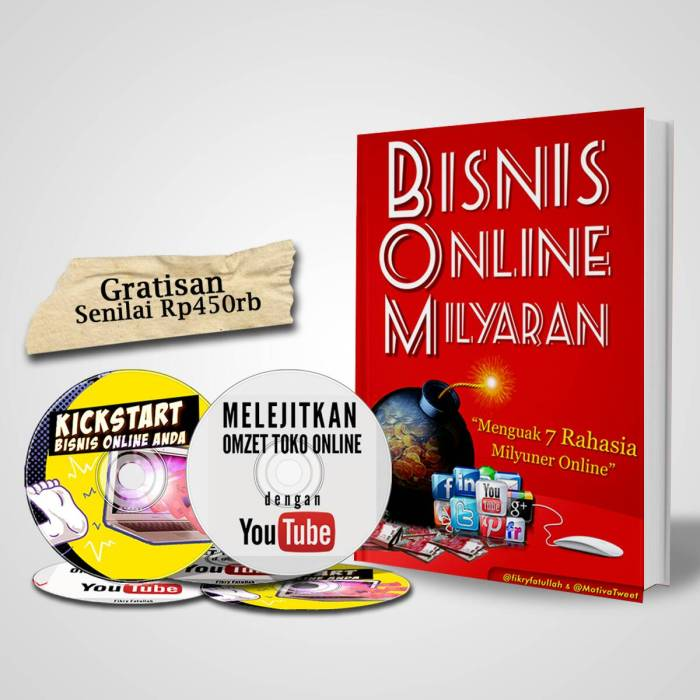 Buku #BOM (Bisnis Online Milyaran) | AREA BUKU BISNIS